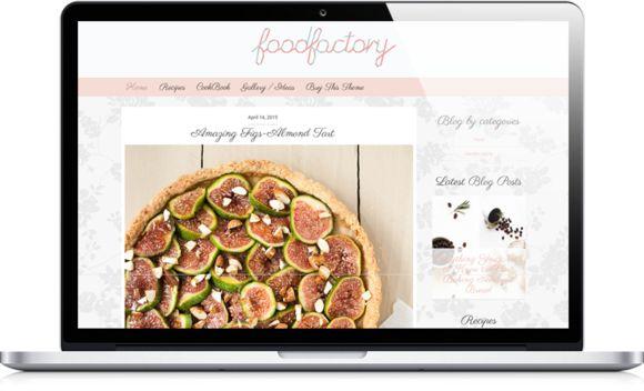 18 mejores imágenes de Food WordPress Themes en Pinterest   Tema de ...