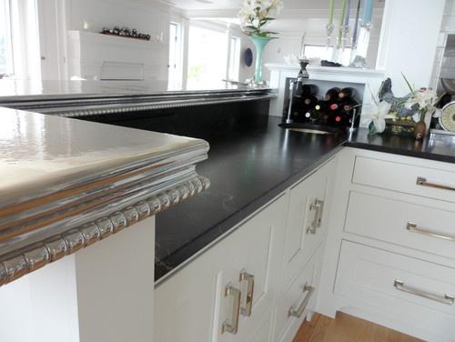 kitchen zinc modern pewter countertops ideas and diy