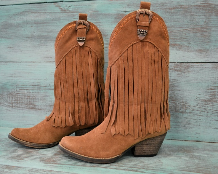 Southern Jewlz Online Store - Fringe Cowboy Boots, $69.95 (http ...