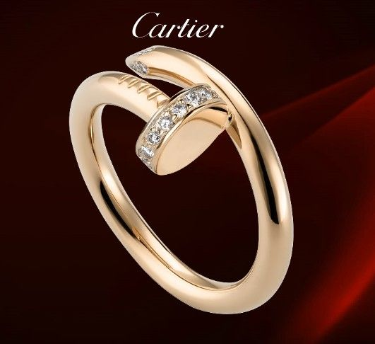 Cartier Juste Un Clou Ring Diamonds $ 45.99 | cartier love ...