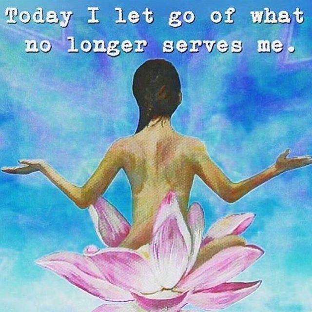 Today I let go of what no longer serves me  ༺♡༻ WILD WOMAN SISTERHOOD™ #wildwomansisterhood  #yoga #yogainspiration