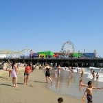 Santa Monica Pier...aquarium, carousel, arcade & more!