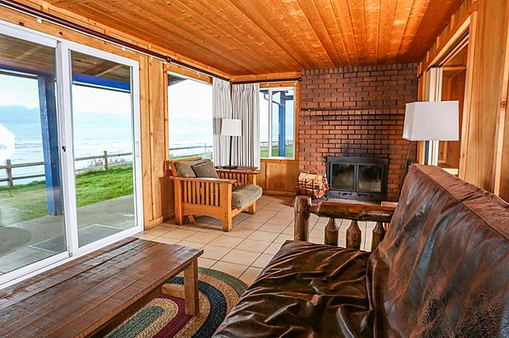 The views never get old from our cozy bluff cabins ...