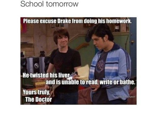 Imagen de funny, doctor, school, drake & josh, tv and lol