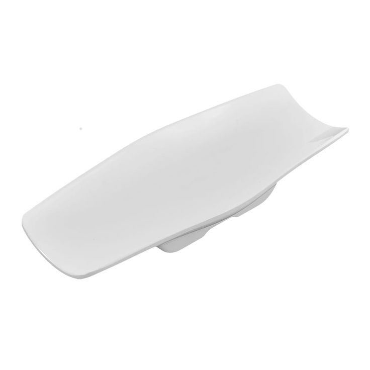 Unique Bargains Hotel Restaurant Rectangle Shape Cake Towel Napkin Dish Tray Holder White