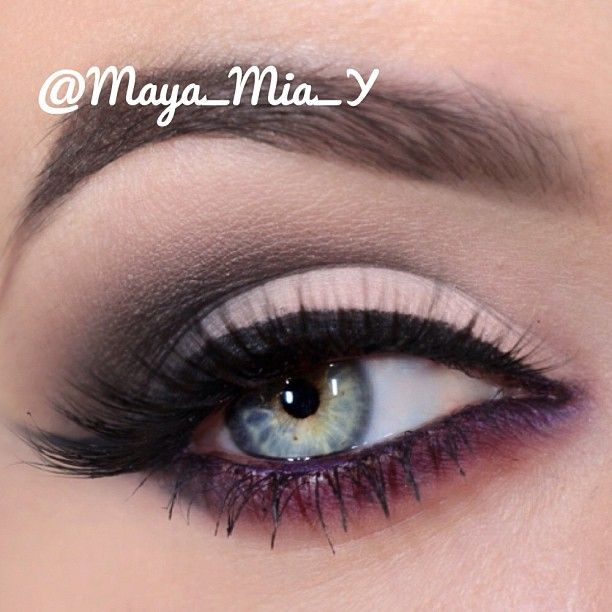 For this look I used @tarte cosmetics Neutral Eyes Palette, pictorial coming up... tartecosmetics.com Don't forget to checkout my youtube channel  007 maya mia for the latest video tutorials - @maya_mia_y- #webstagram