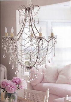 lampara de 5 velas hierro mas caireles