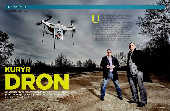 #Robodrone In Forbes magazine (CZ)
