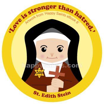 Happy Saints: St. Edith Stein