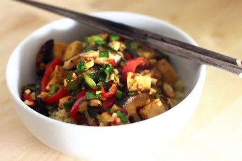 Tofu Shiitake Stir Fry | Recipes | Pinterest