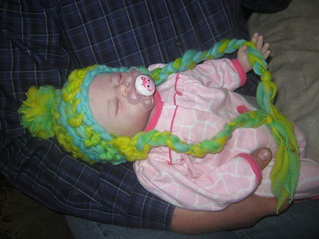 Ravelry: CandidQuilts' Ski Babies Handspun Hat Pattern