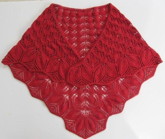 modèle chale tricot gratuit