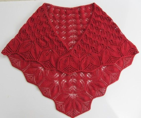 1000+ images about chale tricot on Pinterest | Drops Design, Tricot and Shawl