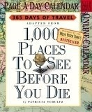 1,000 Places to See Before You Die Calendar 2006  $14.00