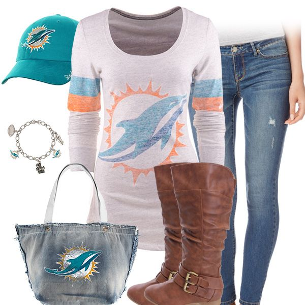 Cute Miami Dolphins Outfit