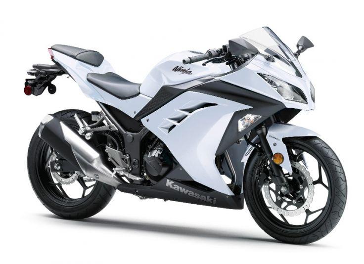 2014 Kawasaki Ninja - Pearl Stardust White  www.mad4bikesuk.co.uk #mad4bikesuk