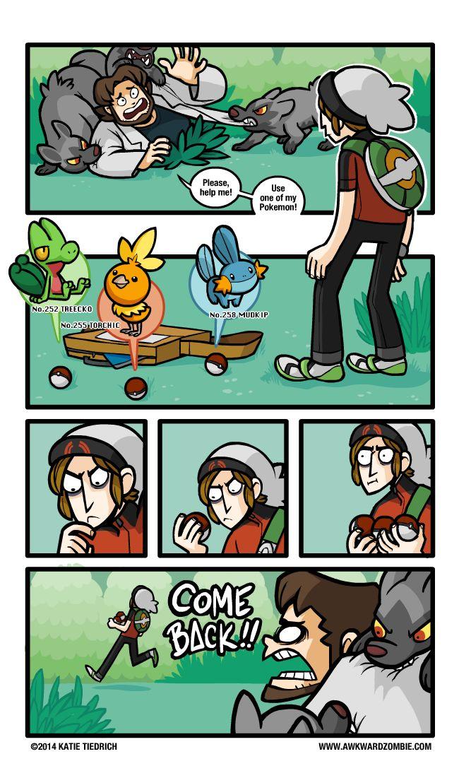 Todo mundo que jogou Pokémon Ruby/sapphire já pensou em fazer isso...
