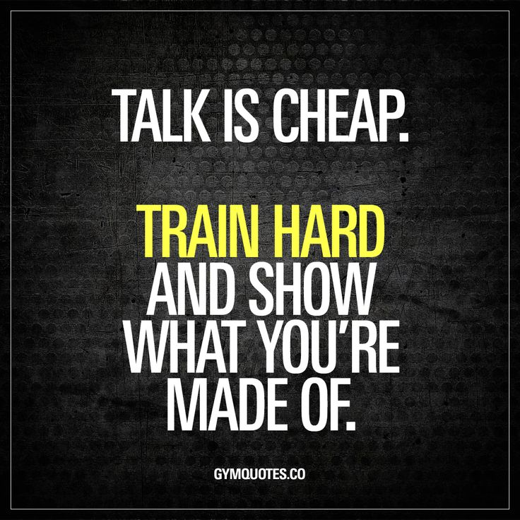 Inspirational Day Quotes: Best 25+ Train Hard Ideas On Pinterest