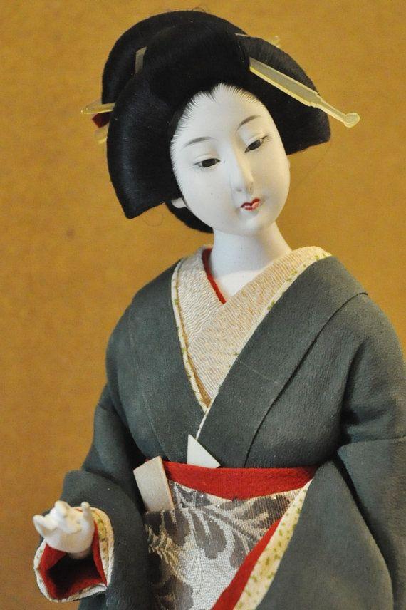 circa 1940 japanese nesting doll vintage