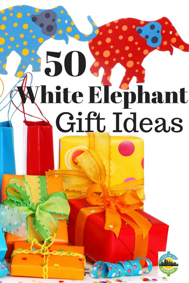 white elephant secret santa grab bag gift ideas