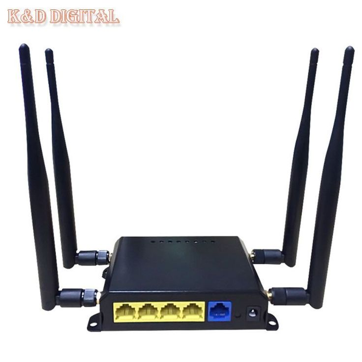 300Mbps OpenWRT 4G Wireless WiFi Router With SIM Slot Support HSPA UMTS TD-LTE FDD-LTE WCDMA GSM GPRS