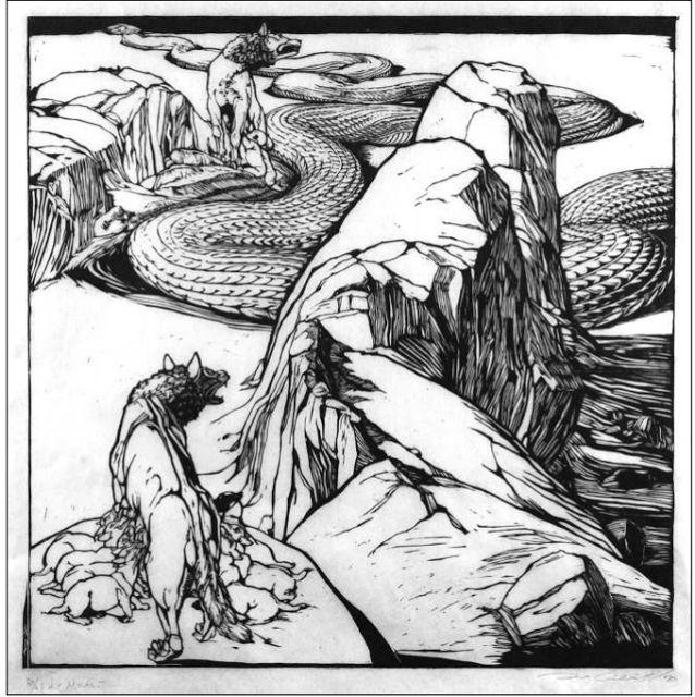 Duilio Cambellotti, Leggende romane, 1935