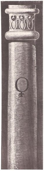 Siebente Säule – VENUS (gezeichnet von Karl Stahl, München)