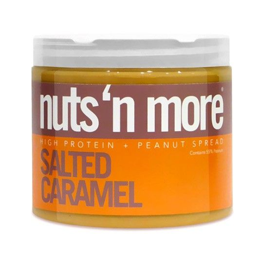 Nuts 'n More Salted Caramel Peanut Butter - We have a UK EXCLUSIVE for you!! Introducing the latest tummy pleasing delight from the Nuts n' More crew - Salted Caramel Peanut Butter - Woo hoo!