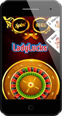 Mobile Casinos on the go, mobile phone with mobile casino bonuses banner