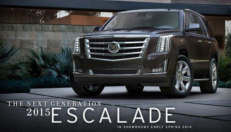 The Next Generation 2015 Escalade