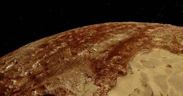 علماء قد يخفي كوكب بلوتو كائنات حية في محيطاته الجوفية Dwarf Planet Japanese Scientist Ocean
