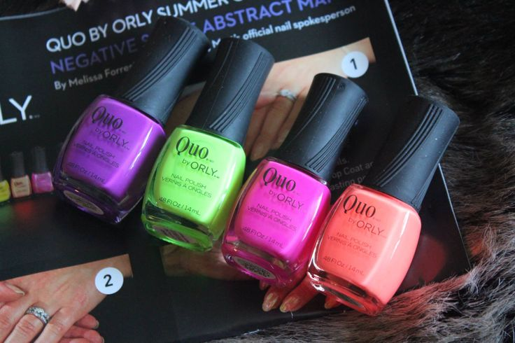 QUO BY ORLY NAIL POLISH: HOW TO SHINE BRIGHT THIS SUMMER - TWENTY YORK STREET