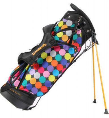 Loudmouth Disco Balls Stand Golf Bag