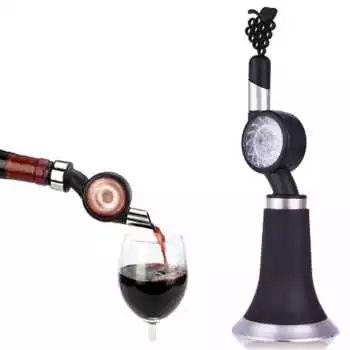 Hot Quick Wine Decanter Pourer Red Wine Aerator Stoper Filter Wine Accessories Carafon a vin aireador