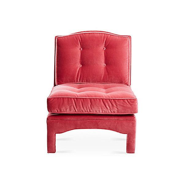 Pink accent chairs living room