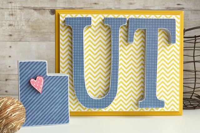 The Happy Scraps: Utah Pioneer Day Crafts