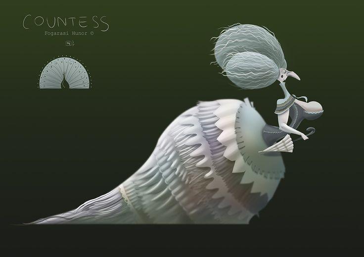 Countess, Hunor Fogarasi on ArtStation at https://www.artstation.com/artwork/lr1EV