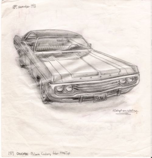 Best Classic Cars Images On Pinterest Urban Sketchers