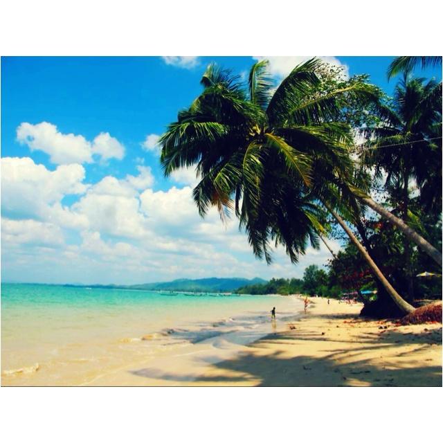 White sand beach @ Khao Lak, Phang-nga