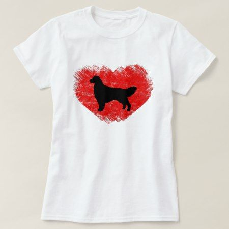 Golden Retriever Heart T-Shirt - click/tap to personalize and buy