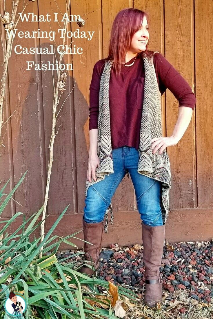 Casual Chic Fashion: What I Am Wearing Today. Casual Chic Fashion Featuring items from Golden Tote and Amazon. Comfortable, Attention-Getting Looks For You To Love. #fashion #style #ootd #chic #boho #bohochic #fashionblogger #styleblogger #over40fashion #over40style #lookoftheday  via @FashionBeyond40