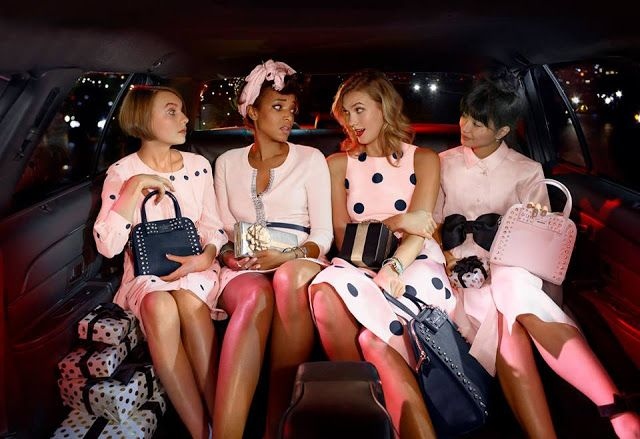 Kate Spade Holiday campaign 2015