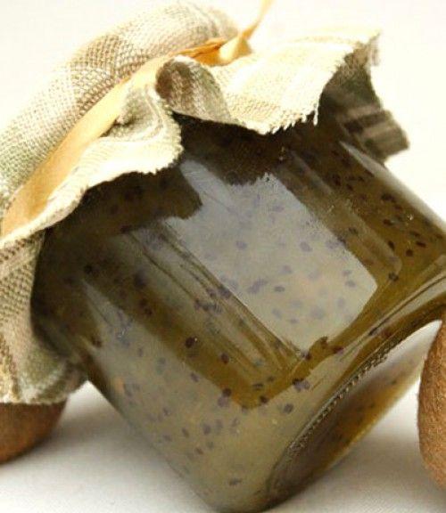 Kiwi jam with honey recipe