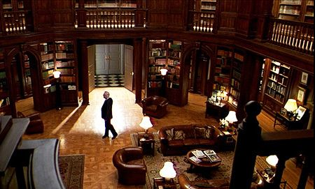 Henry Higgins' library in My Fair Lady - Best fictional libraries from films - handbag.com My dreams of a home library started when I saw My fair Lady.  I have since modified and expanded upon the design and now all I need is a lot of space and tons of money.  But wouldn't it be lovely?