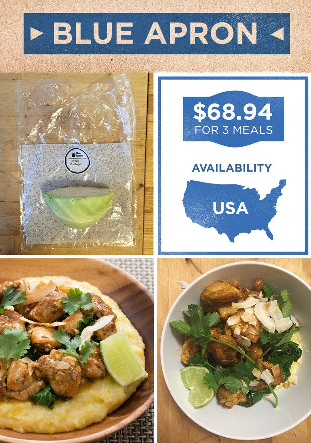 Blue Apron | Here's What It's Like To Actually Cook All The Meal Delivery Kits