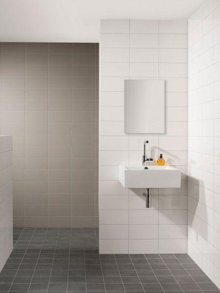 Mosa tiles collectie overzicht interieur badkamers pinterest warm and royals - Badkamer tegel cement ...