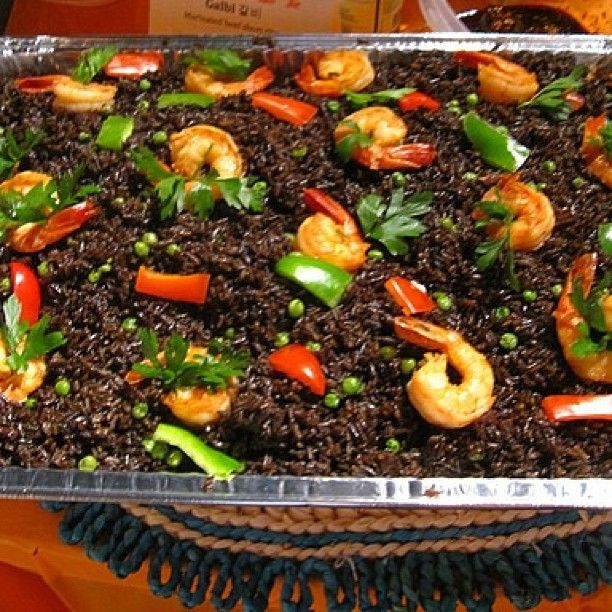 Riz Djon-Djon - (Ree Jon-Jon - Haitian Black Mushroom Rice)  Riz Djon-Djon is a very popular Haitian dish, and remains a personal favorite among the Haitian communities in America. The dish draws its name from the small djon-djon black mushrooms that are native to the island. This dish is made with jasmine rice, dried shredded mushroom (djon djon), shrimp (optional), green peas, spices and coconut oil. Mostly serve as a side dish to be accompanying with a meat dish (griot-fried pork or…