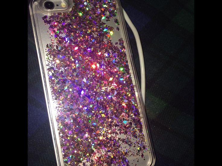 Wish | New Arrival Hot Style Shining Diamond Glitter Quicksand Phone Case Luxury Liquid Cover for iPhone 5/5S/SE/6/6S/6 Plus/6S Plus/7/7 Plus