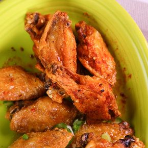 Crispy Chicken Wings with 3 different Sauces from The Chew's Carla Hall, Daphne Oz, & Mario Batali