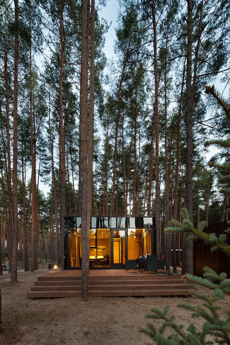 Casas de huéspedes en el Relax Park Verholy / YOD dеsign lab